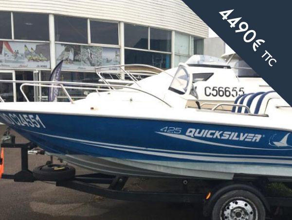 Occasion bateau moteur Quicksilver 425 Commander