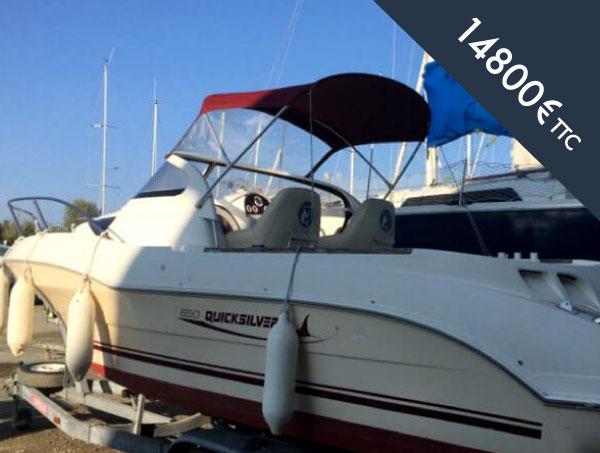 bateau moteur occasion Quicksilver activ 640