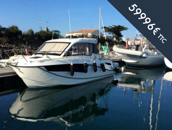 bateau moteur occasion Quicksilver activ 755
