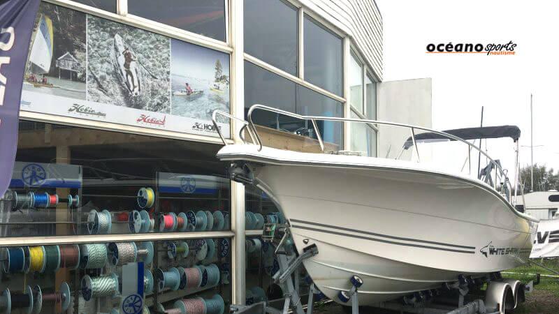 Occasion White Shark Honda 225CV