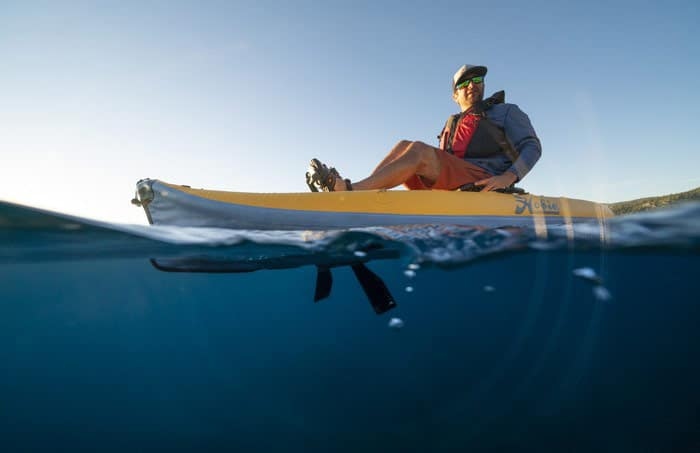 Kayak gonflable Hobie Mirage i9S