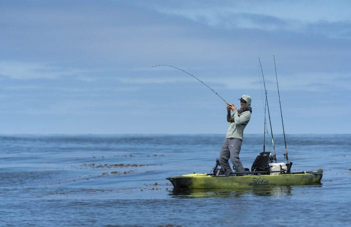 Kayak pêche Hobie Mirage Pro Angler 12 360