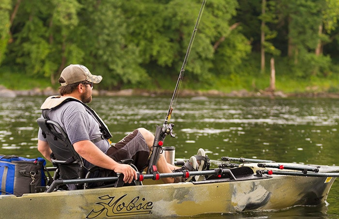 Kayak pêche Hobie Mirage Pro Angler 12