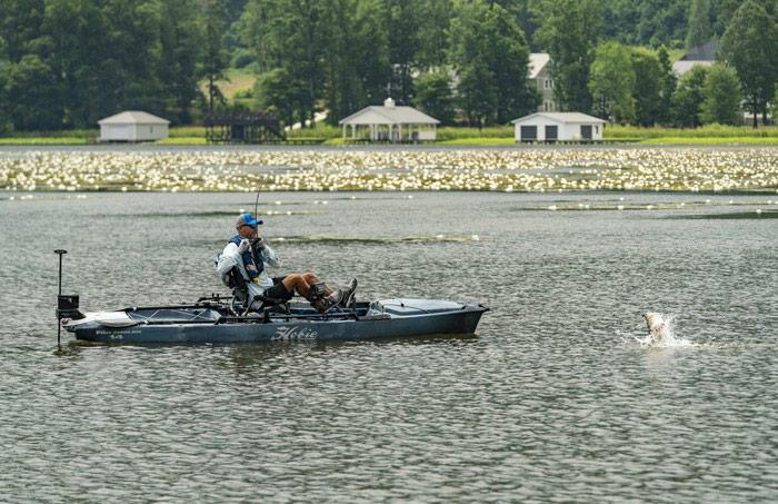 Kayak pêche Hobie Mirage Pro Angler 14 360