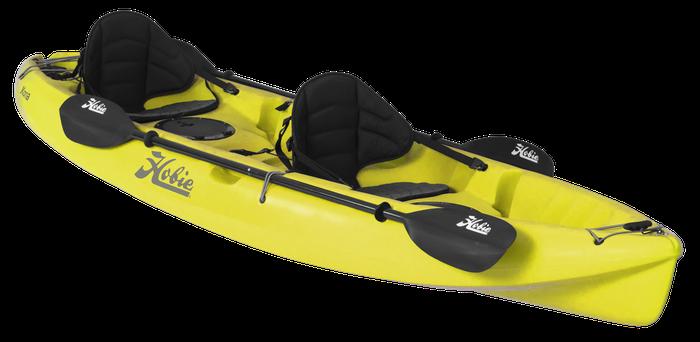 Hobie Kayak à pagaie KONA Jaune
