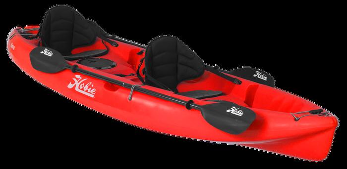 Hobie Kayak à pagaie KONA rouge