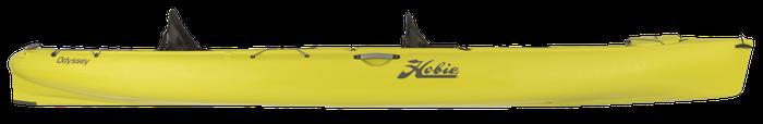 Hobie Kayak double à pagaie ODYSSEY jaune
