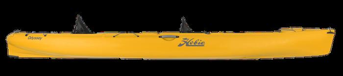 Hobie Kayak double à pagaie ODYSSEY orange papaye