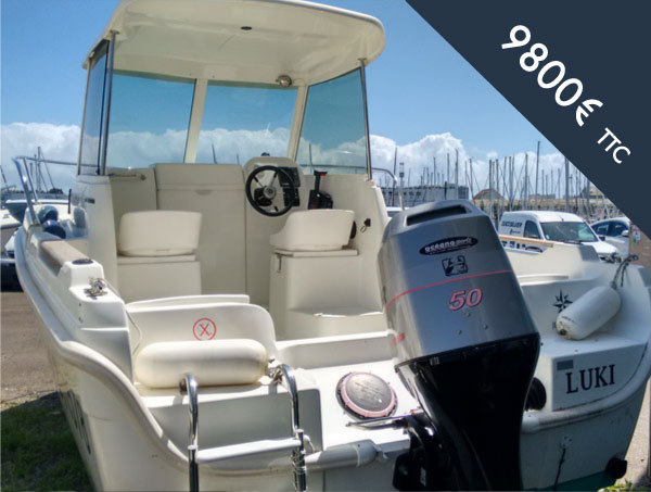 Bateau moteur occasion Merry Fisher 530