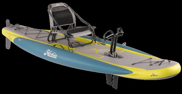 Kayak Hobie iTrek 11 vue de coté