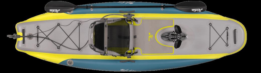 Kayak Hobie iTrek 11 vue du dessus