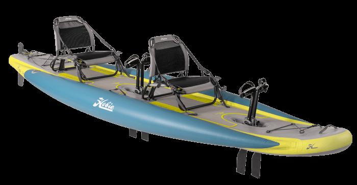 Kayak Hobie iTrek 14 Duo quarter view