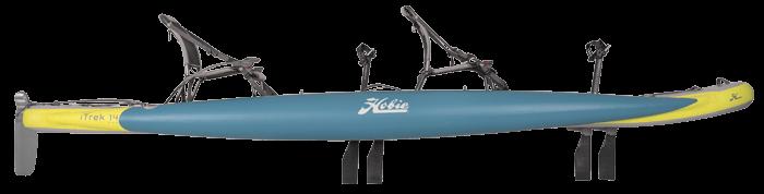 Kayak Hobie iTrek 14 Duo side view