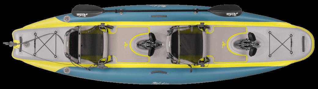 Kayak Hobie iTrek 14 Duo topview