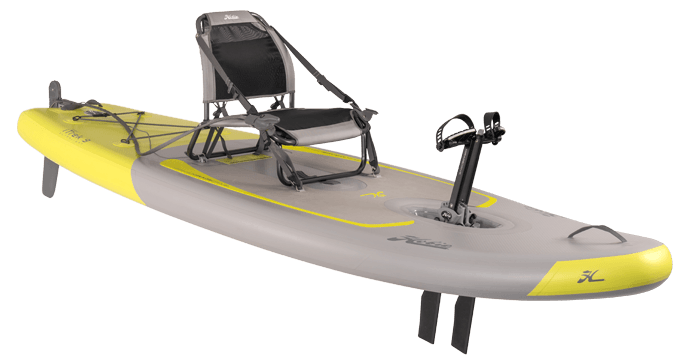Kayak Hobie iTrek 9 vue d'angle