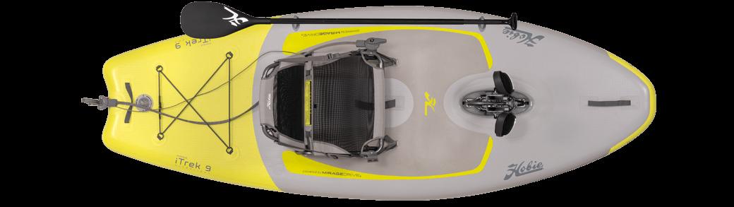 Kayak Hobie iTrek 9 vue du dessus