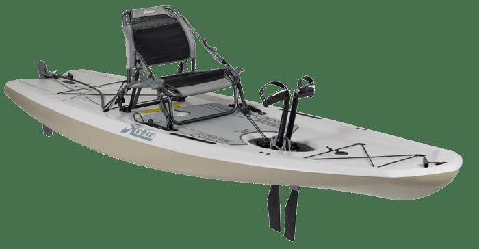 Hobie Kayak Mirage Lynx Side View Dune