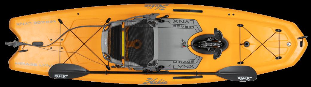 Hobie Kayak Mirage Lynx Top View